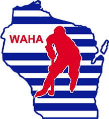 WAHA - Wisconsin Amateur Hockey Association Logo